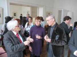 Jean-Claude Passeron, Rachel Gomme and  Professor Derek Robbins